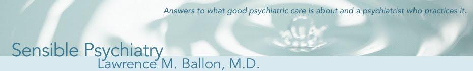 Sensible Psychiatry