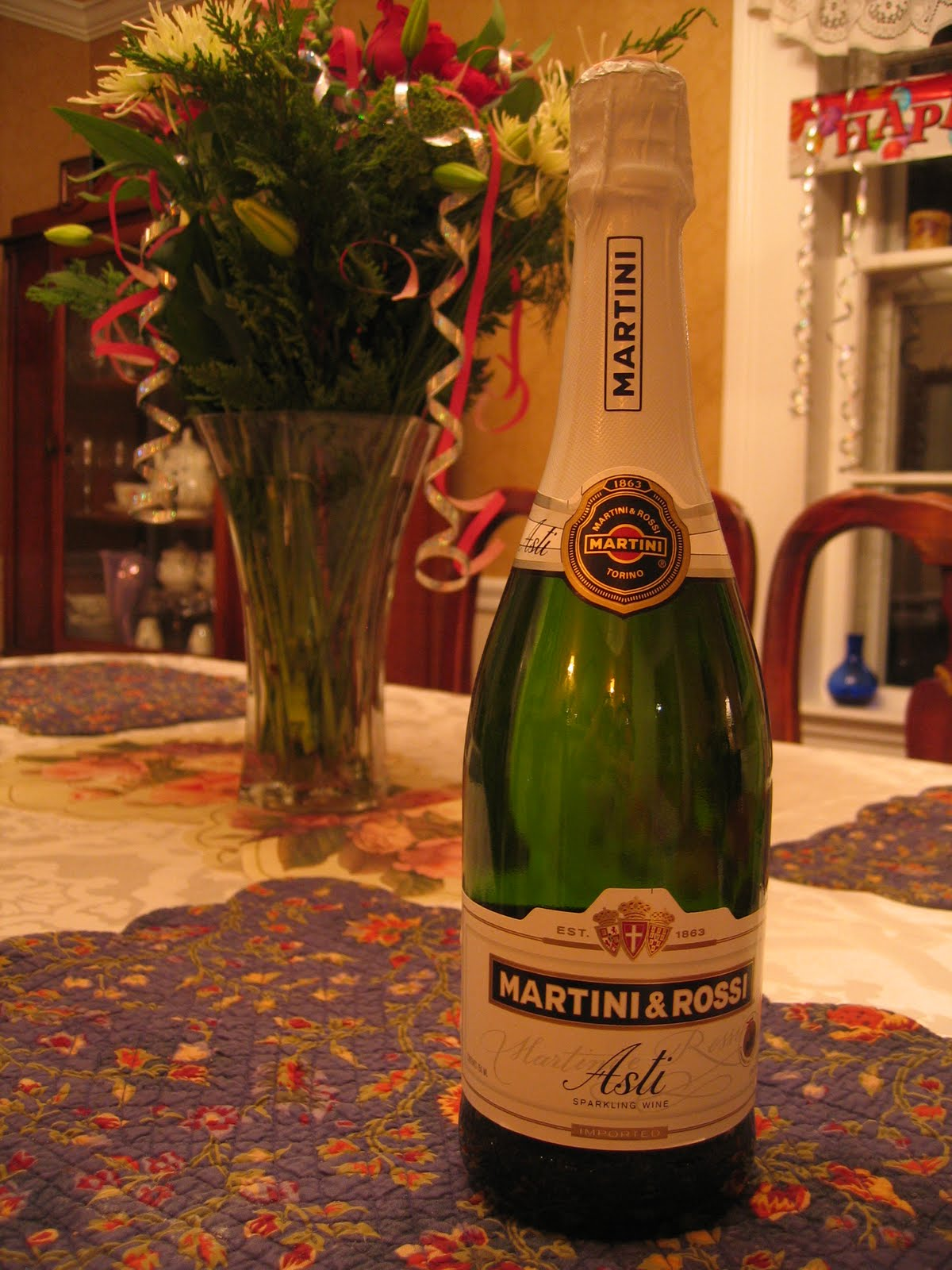 Champagne Martini Asti: description, reviews 94