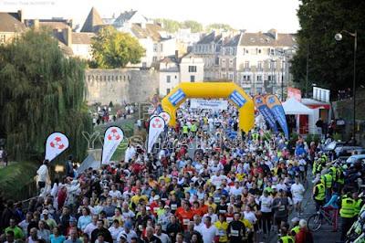 Marathon de Vannes depart