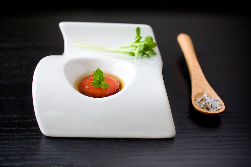 Molecular Gastronomy, Spherification, Grilled Watermelon Spheres