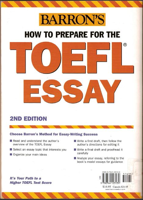 answers to all toefl essay ebook Related book ebook pdf answers to all toefl essay questions download : - home - jack reacher never go back a jack reacher novel - jack of fables vol 6.