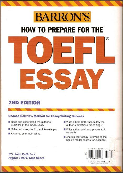 gre prepare essay