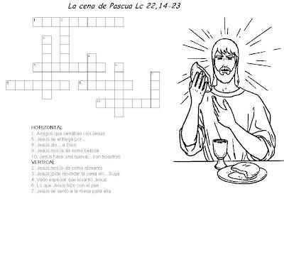 Educar con Jesús: Cruzada La última cena Lc 22,14-23