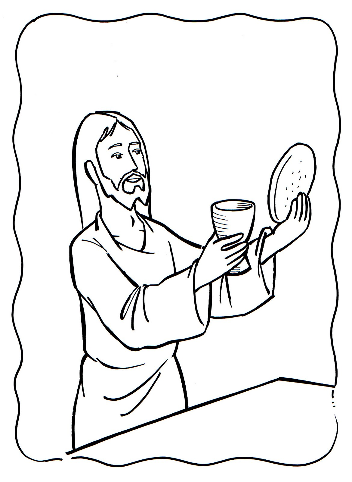 Educar con Jesús: Dibujos Eucarístía