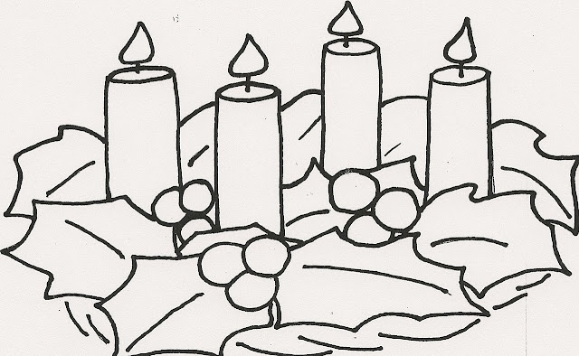 Dibujos Para Colorear Del Tiempo De Adviento ~ Ideas Creativas Sobre ...
