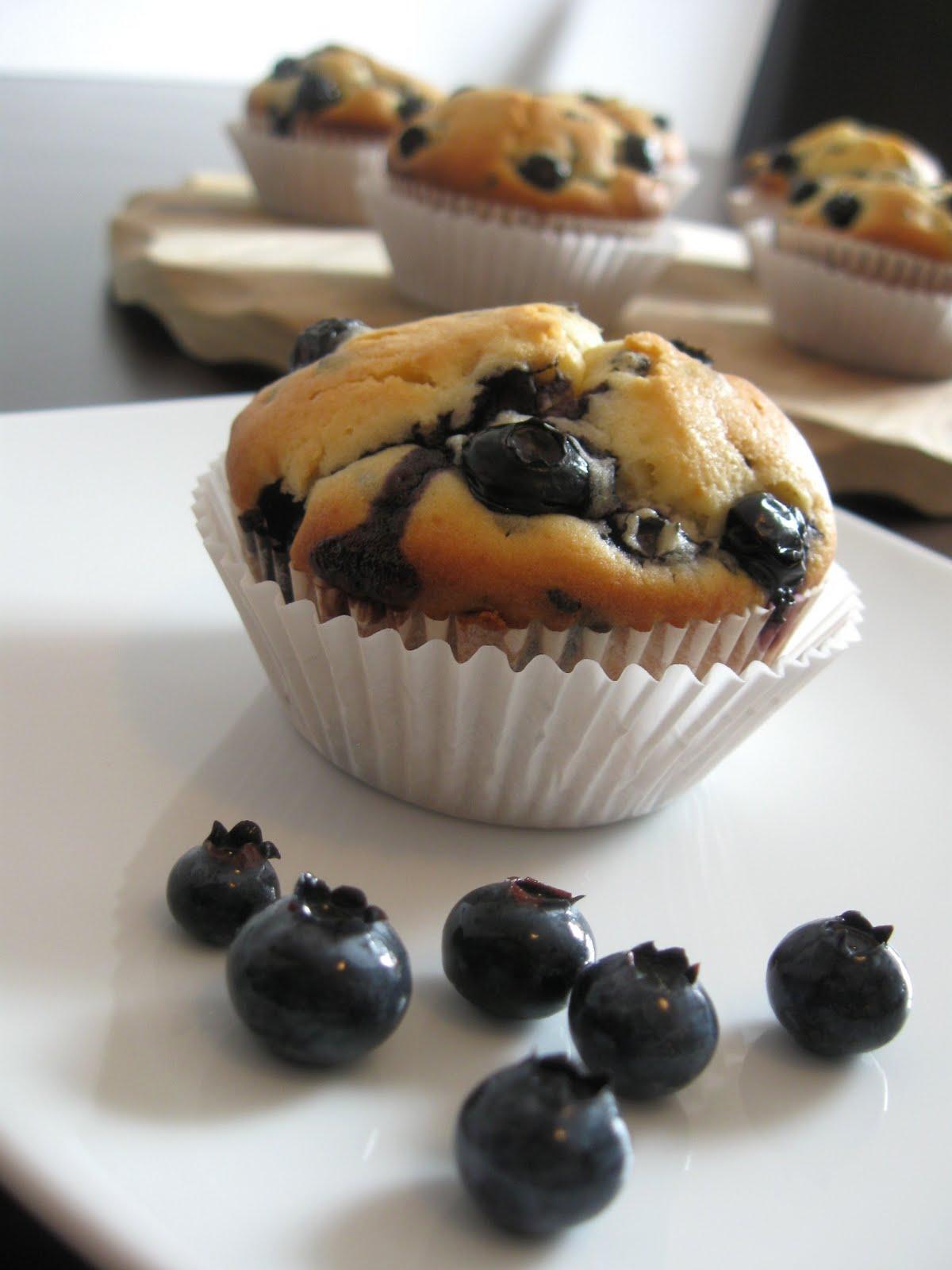küchenzaubereien blaubeermuffins