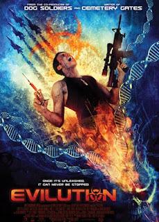 Filme Poster Evilution DVDRip RMVB Legendado