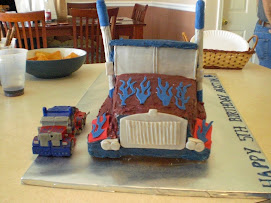 Austin's 5th Birthday Cake