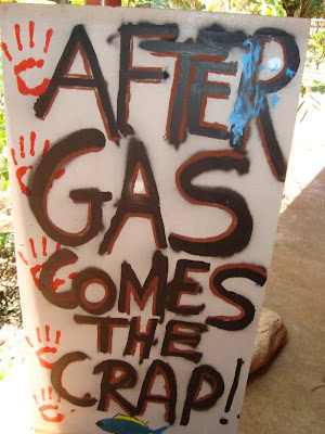 hands off country go ahead given for clearing at gas hub site