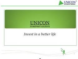 UNICON Presentation
