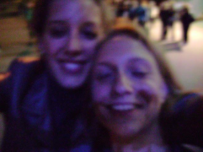 Doro et moi après le concert d'Olivia Ruiz