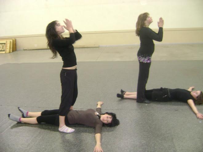 atelier chorégraphique ado's ( Jessy, Tracy, Amélie et Marie)