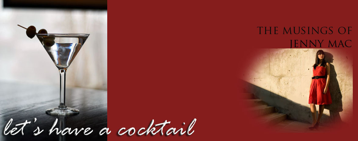 Lets have a cocktail...