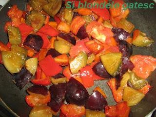 legume pentru pui cu prune