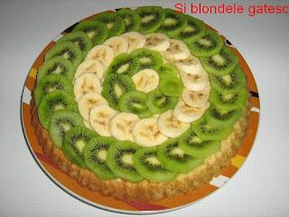 tarta cu kiwi si banane