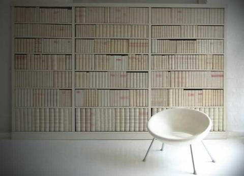 déco faux livres pour bibliothèque