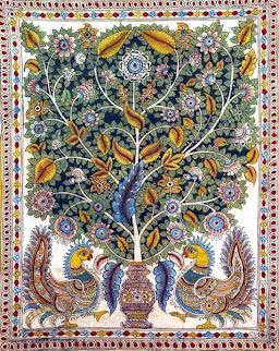 Una versión del árbol de la vida de la India
