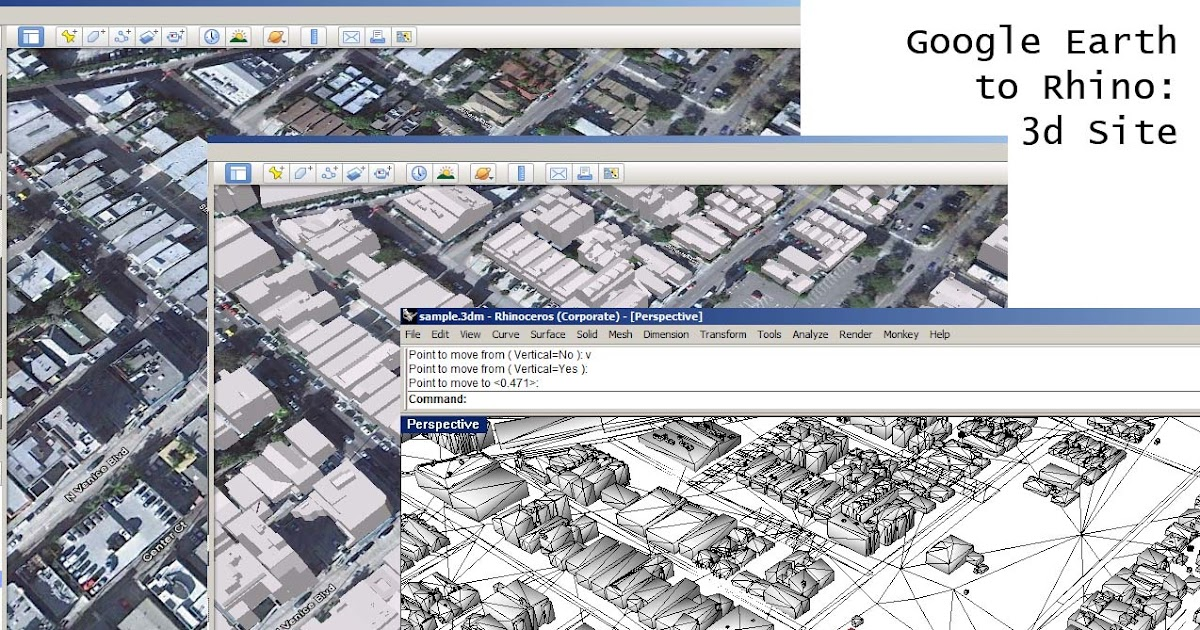 Make2d Extracting 3d Models From Google Earth