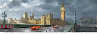 Cars 2 Londres