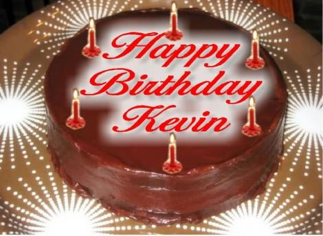 Birthday Cake Images With Name Kevin : K poison!!: Felicidades atrasadas Kevin!!!!!