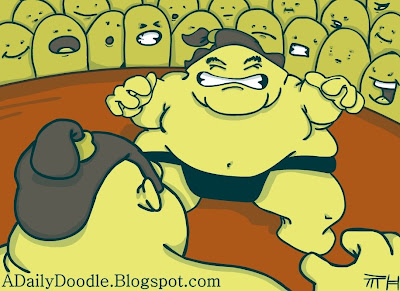Fat Sumo Fight