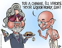 vijay mallya,Gandhi,father of the nation