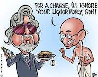 vijay mallya,Gandhi,father of the nation