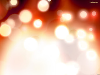 defocused fire,Light images