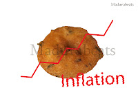 Inflation affects my Vada, Vada,Inflation,south Indian recipe