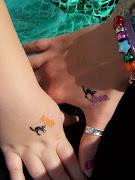 2006. matching sister tattoos.