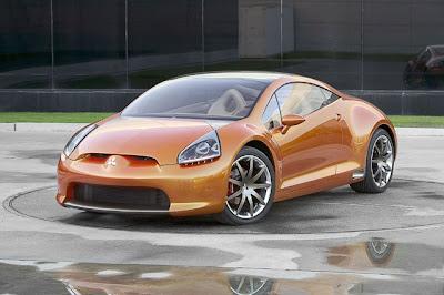 Mitsubishi Eclipse Concept-E front