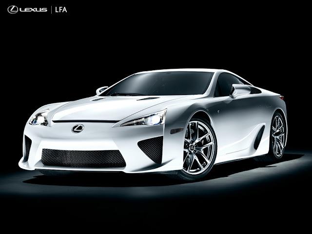 2012 Lexus LFA silver