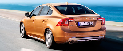 Volvo S60 Copper rear view