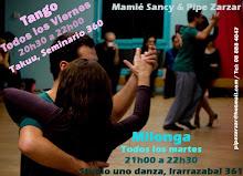 Clases de Tango y Milonga en Santiago.