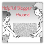Helpful Blogger Award