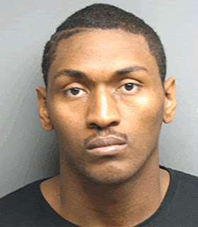 American basketball player Ron Artest