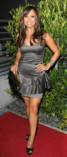 Cheryl Burke Hot photos in black top