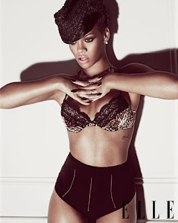 Rihanna Elle photos