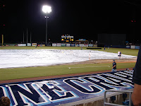 Friday night's game against Toledo was postponed due to rain.
