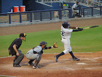 Tim Beckham was 4 for 5 in Friday's game against Brevard County.