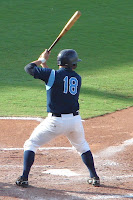 Stone Crab's Stephen Vogt was the Rays Minor League Hitter of the month for May. Photo by Jim Donten.