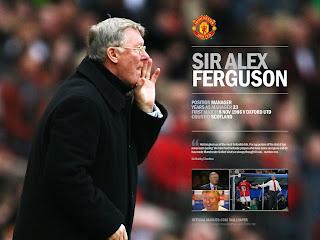 Wallpaper Alex Ferguson