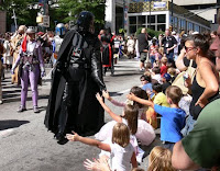 Darth Vader with Kids
