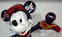 Braves fan, Mickey Mouse