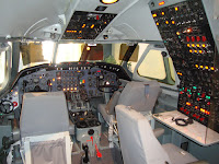Delta Plane Cockpit