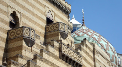 Fox Theatre roof detail