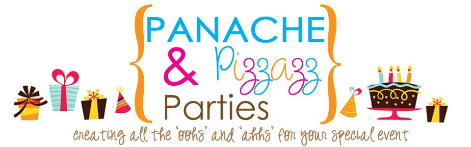 Panache & Pizzazz Parties About Me