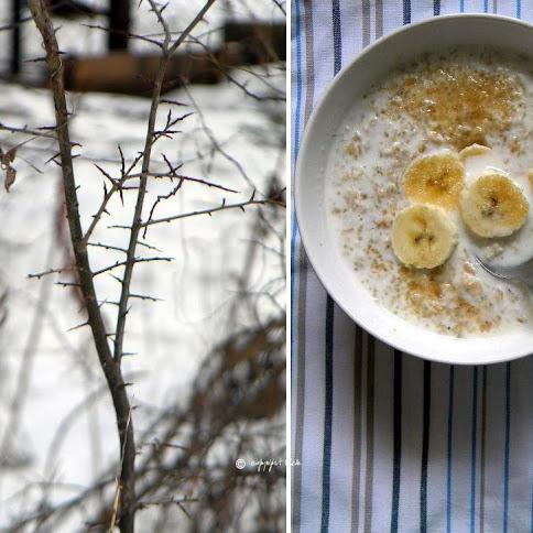 Śniadanie: O poranku bananowa owsianka