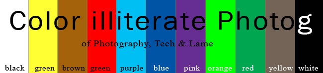 Color Illiterate Photog