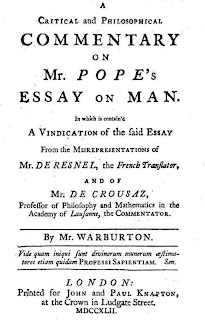 alexander pope an essay on man sparknotes